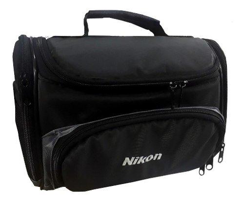 Bolso Para Nikon D3400 D3300 D5300 Acolchado Divisores