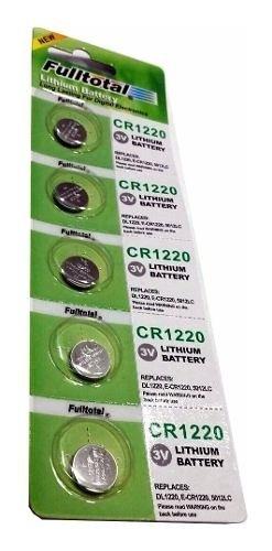 Pilas Cr-1220 Cr1220 Full Total Blister X 5 Unidades Boedo