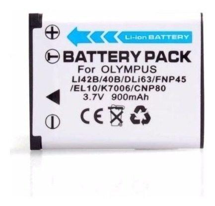 Bateria  En-el10, Pentax D-li63, Olympus Li-40b, Li-42b