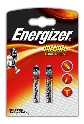 2 Pilas Aaaa Energizer Alcalinas 1.5 Volt