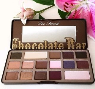 Paleta de Sombra Chocolate Bar  Eye Shadow Palette Too Faced( réplica)