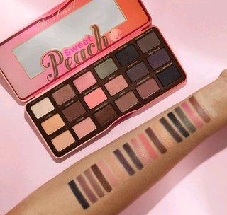 Sombra em Pó Sweet Peach Eye Shadow Palette