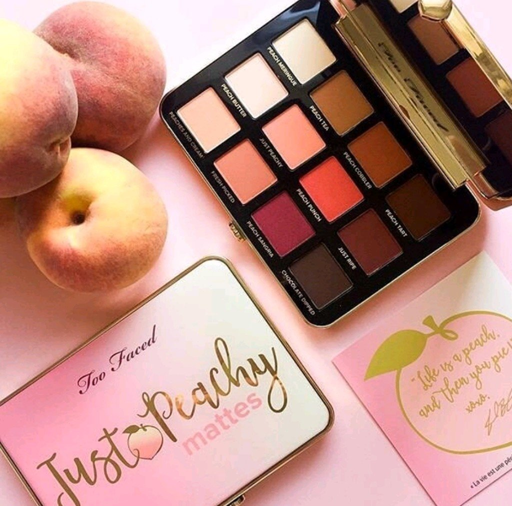 Just Peachy Mattes palette Too Faced ( Réplicas)