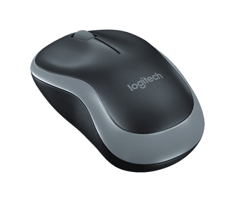 Mouse Logitech M185 Grey Wireless