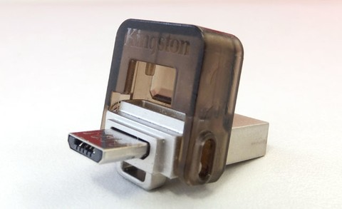Pendrive Kingston 16Gb Dual USB DTDUO