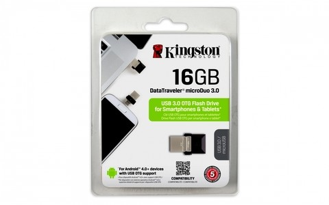 Pendrive Kingston 16Gb Dual USB DTDUO - comprar online