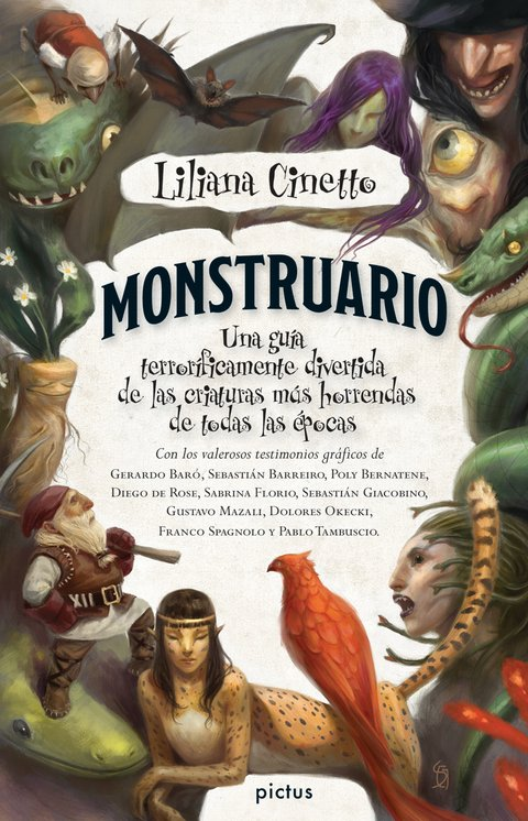 Monstruario, de Liliana Cinetto