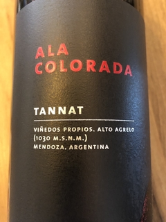 Ala colorada tannat