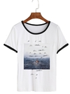 Remera Dama Ringer   Shanw Mendes Picture