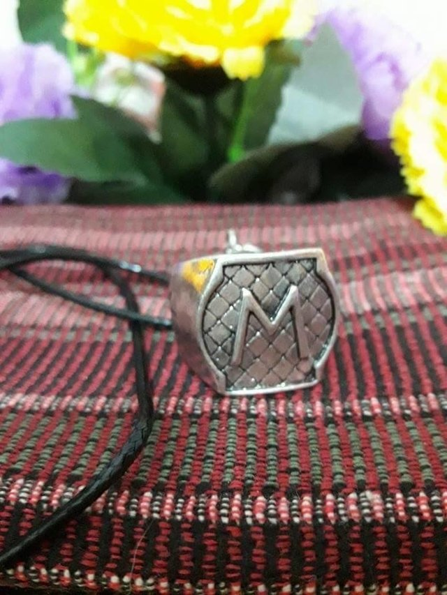 Collar  del anillo familia Morgenstern -Shadow Hunters