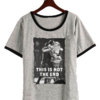 Remera Dama Ringer 1D Not the end