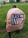 Mochila Black Pink In Your Area Frase
