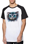 Remera Unisex Ranglan  Alice Cat Movie