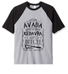 Remera Unisex Ranglan Harry Potter Avada Kedavra