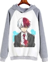 Buzo Unisex Adulto Boku No Hero Shoto