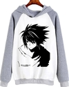 Buzo Unisex Adulto Death Note L Vector