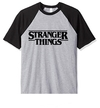 Remera Unisex Ranglan Stranger Things Logo
