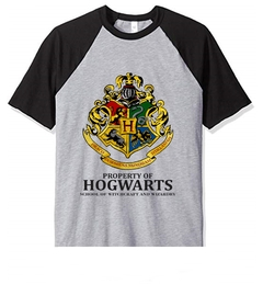 Remera Unisex Ranglan Harry Potter Property Of Hogwarts