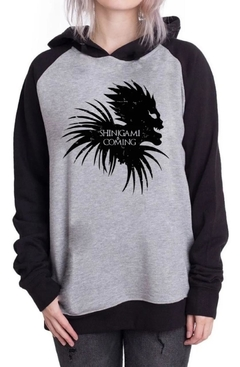 Buzo Unisex Adulto Death Note Shinigami Is Coming