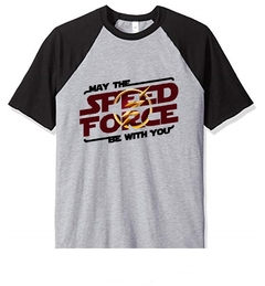 Remera Unisex Ranglan Flash Speed Force