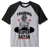 Remera Unisex Ranglan Dragon Ball Super Saiyan