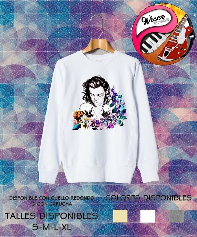 Buzo Harry Styles Flowers