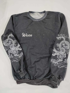 Buzo  full estampado wiser dragon