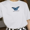 Remera Unisex Clásica Became the change butterfly