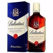 BALLANTINE`S FINEST BLENDED SCOTCH WHISKY . 750 ML