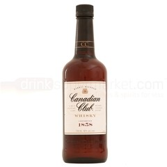 CANADIAN CLUB 6 AÑOS . 750 ML . BLENDED WHISKY