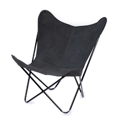BUTTERFLY CHAIR · A S S A M B L E · BLACK on internet