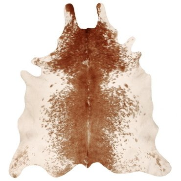 BROWN SPLASHED COWHIDE