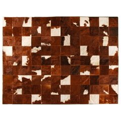 BROWN MIXED COWHIDE RUG - buy online