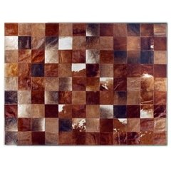 BROWN BRINDLE MIXED COWHIDE RUG on internet