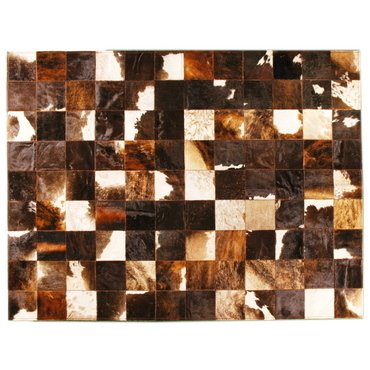 DARK BRINDLE MIXED COWHIDE RUG - online store