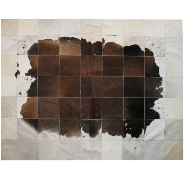 DARK BROWN CLOUD COWHIDE RUG - buy online