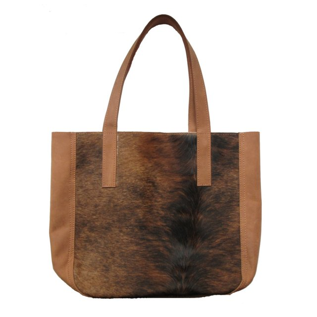 COWHIDE BAG WITH BELLOW - CALMA CHICHA