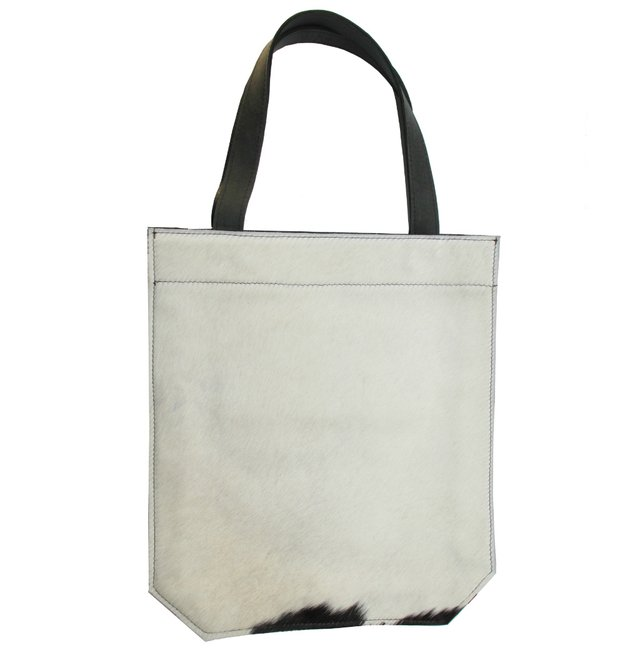 COWHIDE AND LEATHER BAG (copia) on internet