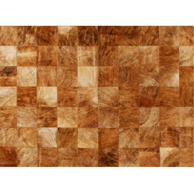 PLAIN BRINDLE COWHIDE RUG