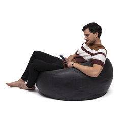 BEANBAG · S O C C E R B A L L · LEATHER