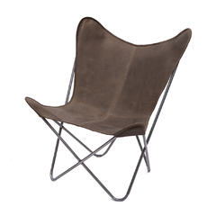 BUTTERFLY CHAIR · A S S A M B L E · BROWN
