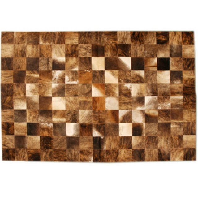 LIGHT BRINDLE MIXED COWHIDE RUG - buy online