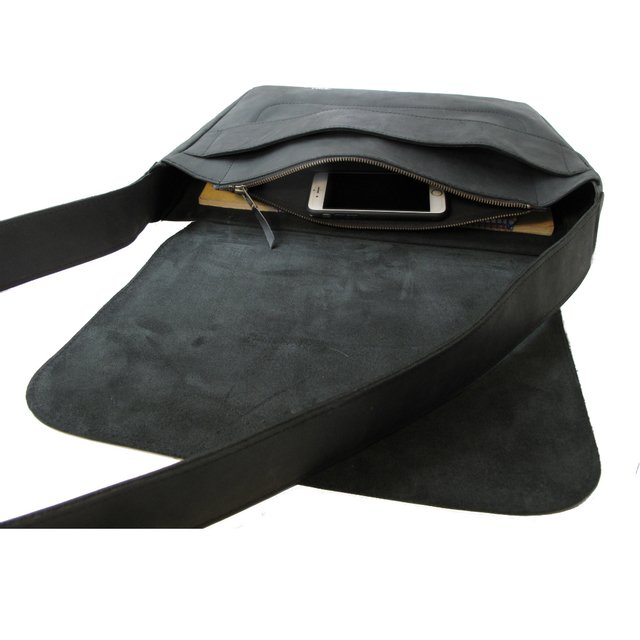 BLACK LEATHER CARPET BAG on internet