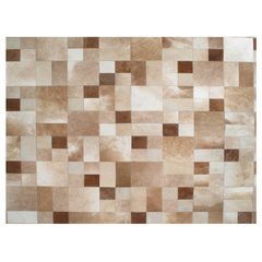NATURAL MULTIFORM COWHIDE RUG - buy online