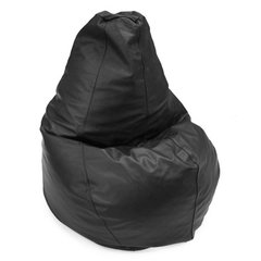 PEAR SHAPE LEATHER BEAN BAG