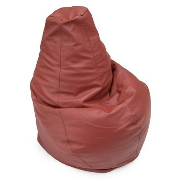 PEAR SHAPE LEATHER BEAN BAG - buy online