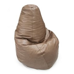 PEAR SHAPE LEATHER BEAN BAG on internet
