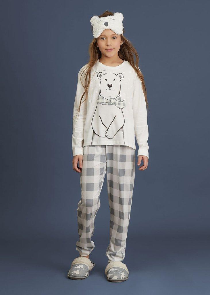8ee8c99d3 Pijama infantil menina - Snow Bear