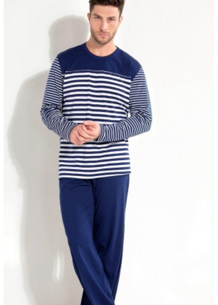 e27ebd1c1ecf5d Pijama Masculino com listras
