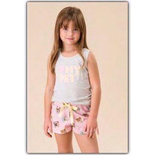 Pijama regata infantil - Happy Kingdom